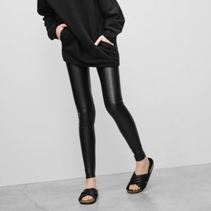 Aritzia Daria leather legging